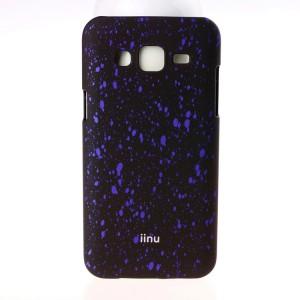 Пластиковый матовый дизайнерский чехол с голографическим принтом Звезды для Samsung Galaxy J5