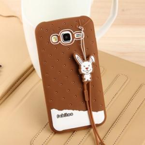 Силиконовый дизайнерский фигурный чехол для Samsung Galaxy J5