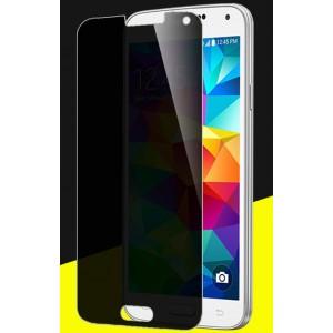 Антишпионское износоустойчивое сколостойкое олеофобное защитное стекло-пленка для Samsung Galaxy S5 (Duos)
