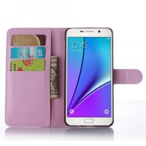 Чехол портмоне подставка с магнитной защелкой для Samsung Galaxy A7 (2016) Розовый