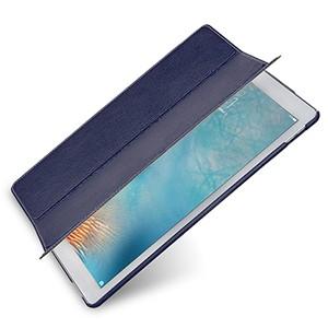 Кожаный сегментарный чехол подставка (нат. кожа) для Ipad Pro