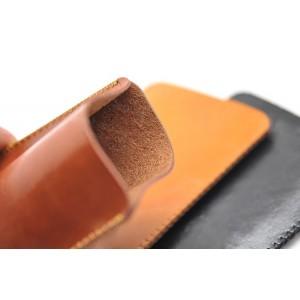 Кожаный вощеный мешок с логотипом для Blackberry Classic
