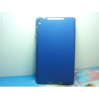 Пластиковый матовый чехол для Asus Nexus 7 Синий