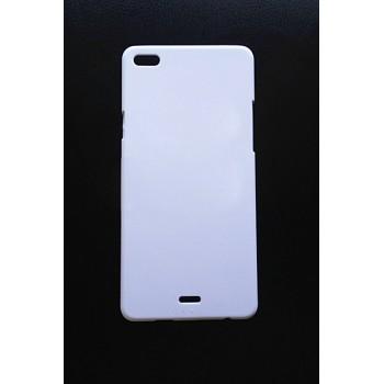 Пластиковый матовый непрозрачный чехол для Micromax Canvas Sliver 5