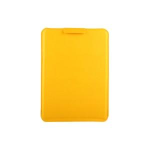 Кожаный сегментарный мешок (иск. Кожа) подставка для Samsung Galaxy Tab A 9.7 Желтый