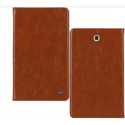 Кожаный чехол подставка на поликарбонатной непрозрачной основе для Samsung Galaxy Tab A 9.7