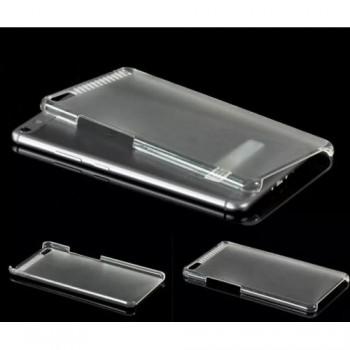 Пластиковый транспарентный чехол для Lenovo Phab Plus