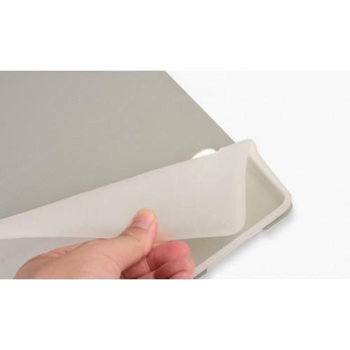 Чехол книжка подставка на силиконовой основе с полноповерхностным принтом и магнитной защелкой для Samsung Galaxy Tab A 8
