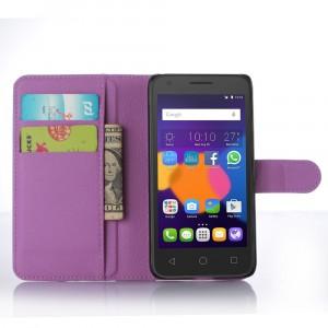 Чехол портмоне подставка с защелкой для Alcatel One Touch POP 3 5