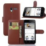 Чехол портмоне подставка с защелкой для Alcatel One Touch Pixi 3 (4.5)