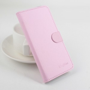 Чехол портмоне подставка с защелкой для Alcatel One Touch Pixi 3 (4.5) Розовый