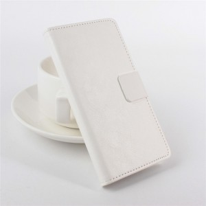 Глянцевый чехол портмоне подставка на силиконовой основе с защелкой с отделением для карт для Alcatel One Touch Pixi 3 (4.5)