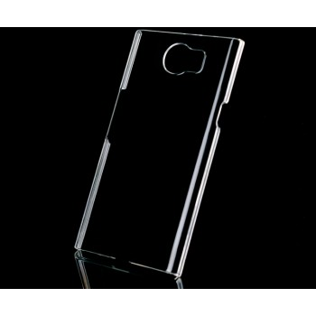 Пластиковый транспарентный чехол для Blackberry Priv