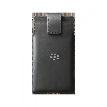 Оригинальный кожаный мешок с креплением для пояса для Blackberry Priv
