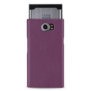 Кожаный чехол накладка (нат. кожа) для Blackberry Priv
