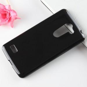 Силиконовый матовый полупрозрачный чехол для LG Ray Черный