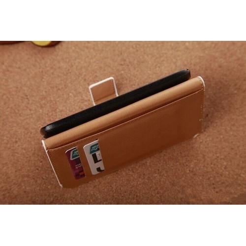 Дизайнерский чехол подставка с полноповерхностным принтом и застежкой с отделением для карт для Xiaomi RedMi 2
