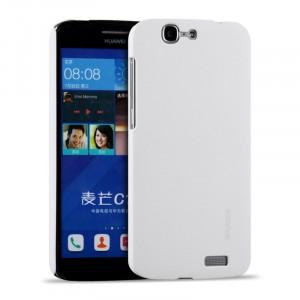 Пластиковый матовый металлик чехол для Huawei Ascend G7