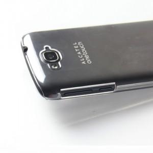 Пластиковый транспарентный чехол для Alcatel One Touch Pop C7 (7041d)