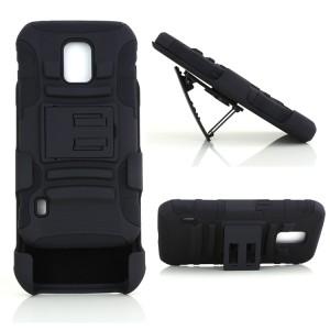 Антиударный гибридный чехол экстрим защита силикон/поликарбонат для Samsung Galaxy S5 Active