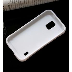 Силиконовый матовый непрозрачный чехол для Samsung Galaxy S5 Active