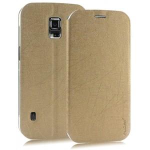 Текстурный чехол флип подставка на пластиковой основе с присоской для Samsung Galaxy S5 Active