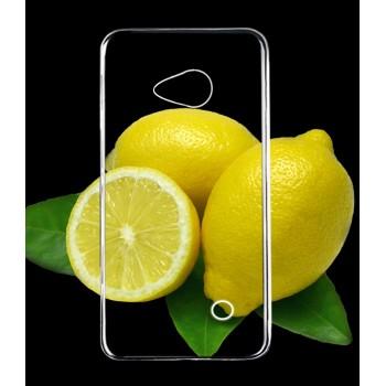 Силиконовый транспарентный чехол для Nokia Lumia 730/735