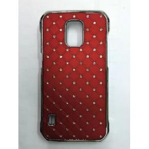 Дизайнерский пластиковый чехол со стразами для Samsung Galaxy S5 Active