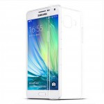 Силиконовый траспарентный чехол для Samsung Galaxy A3