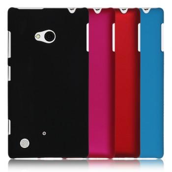Пластиковый матовый непрозрачный чехол для Nokia Lumia 720