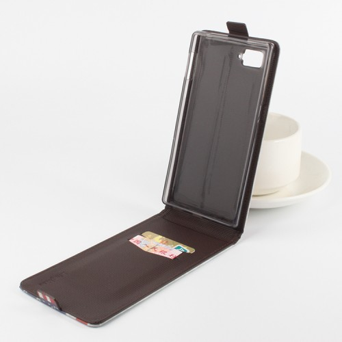 Чехол вертикальная книжка на силиконовой основе с магнитной застежкой и полноповерхностным принтом для Lenovo Vibe Z2 Pro