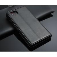 Чехол портмоне подставка с защелкой для Lenovo Vibe Z2 Pro Черный