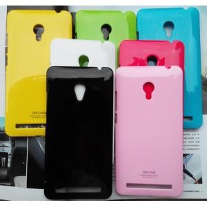 Пластиковый глянцевый непрозрачный чехол для ASUS Zenfone 6