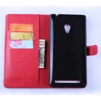 Чехол портмоне подставка с защелкой для ASUS Zenfone 6 Красный