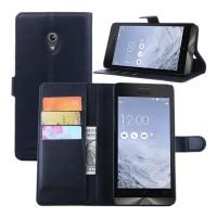 Чехол портмоне подставка с защелкой для ASUS Zenfone 6 Черный