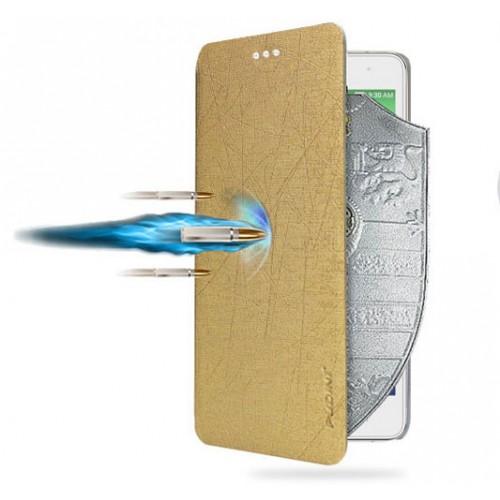 Текстурный чехол флип подставка на присоске для Lenovo Vibe P1m