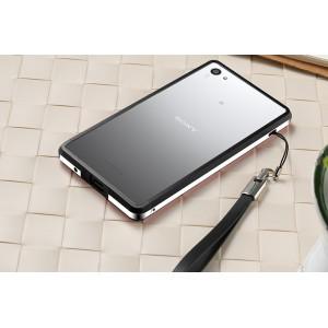 Металлический двухцветный бампер для Sony Xperia Z5 Compact Черный
