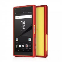 Металлический бампер для Sony Xperia Z5 Compact Красный