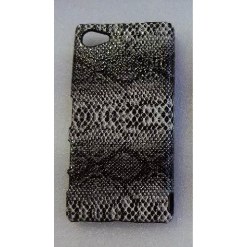 Пластиковый матовый текстурный чехол дизайн Природа для Sony Xperia Z5 Compact