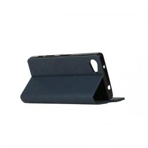 Дизайнерский чехол флип подставка на силиконовой основе с отделением для карты для Sony Xperia Z5 Compact