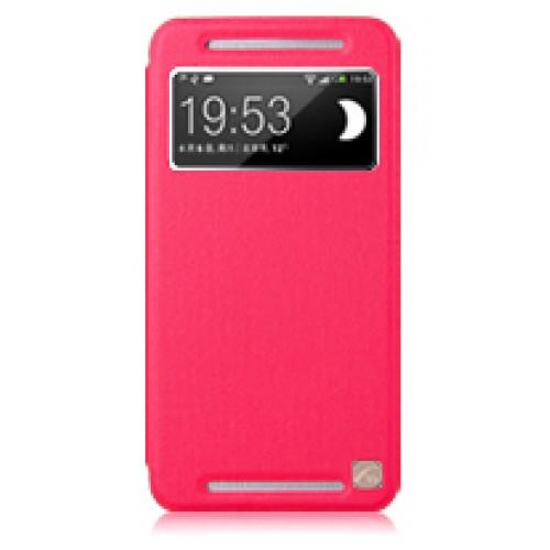 Чехол с окном вызова для HTC One (M7) Dual SIM