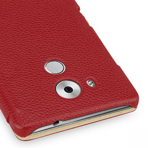 Кожаный чехол горизонтальная книжка (нат. кожа) для Huawei Mate 8