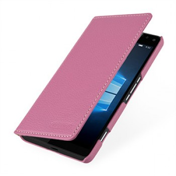 Кожаный чехол портмоне (нат. кожа) для Microsoft Lumia 950 XL