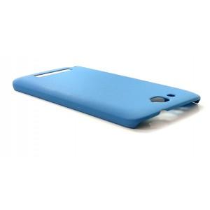 Матовый пластиковый чехол с защитой от царапин для Alcatel One Touch Hero Голубой