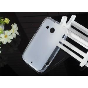 Силиконовый полупрозрачный чехол для HTC Desire 200