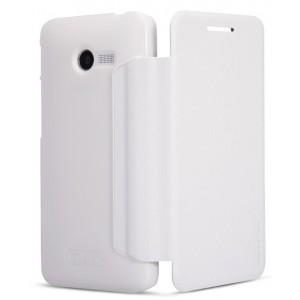 Тонкий чехол флип для ASUS Zenfone 4 (A400CG) Белый