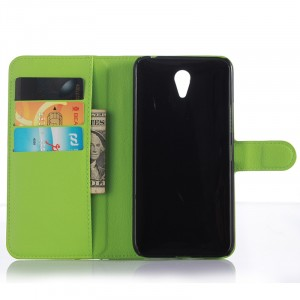 Чехол портмоне подставка на пластиковой основе на магнитной защелке для ZUK Z1