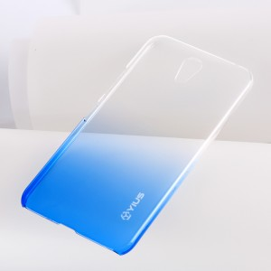 Пластиковый матовый полупрозрачный градиентный чехол для ZUK Z1