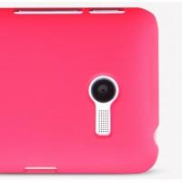 Пластиковый матовый премиум чехол для ASUS Zenfone 4 (A400CG) Пурпурный