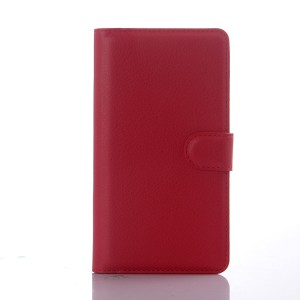 Чехол портмоне подставка с защелкой для Sony Xperia C4 Красный